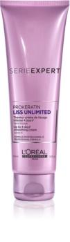 L'Oréal Professionnel Serie Expert Liss Unlimited термозащитный крем для разглаживания непослушных волос