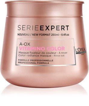 L'Oréal Professionnel Serie Expert Vitamino Color AOX mascarilla nutritiva para cabello teñido