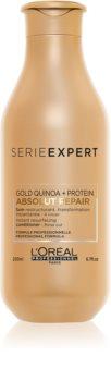 L'Oréal Professionnel Serie Expert Absolut Repair Gold Quinoa + Protein Herstellende Verzorging  voor Sterk Beschadigd Haar