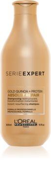 L'Oréal Professionnel Serie Expert Absolut Repair Gold Quinoa + Protein Herstellende Shampoo voor Sterk Beschadigd Haar