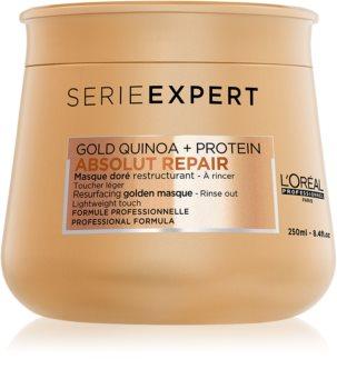 L'Oréal Professionnel Serie Expert Absolut Repair Gold Quinoa + Protein mascarilla regeneradora para cabello maltratado o dañado