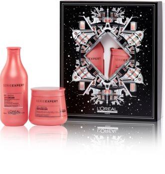 L'Oréal Professionnel Serie Expert Inforcer set cadou (împotriva părului fragil)