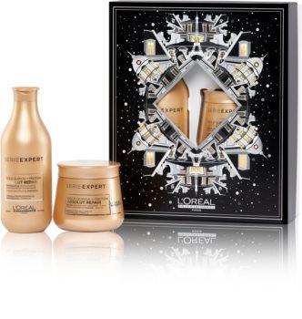 L'Oréal Professionnel Serie Expert Absolut Repair Gold Quinoa + Protein confezione regalo (per capelli molto danneggiati)