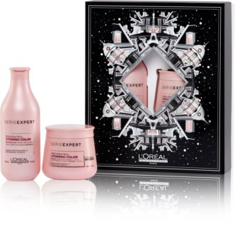 L'Oréal Professionnel Serie Expert Vitamino Color Resveratrol Geschenkset (für gefärbtes Haar)