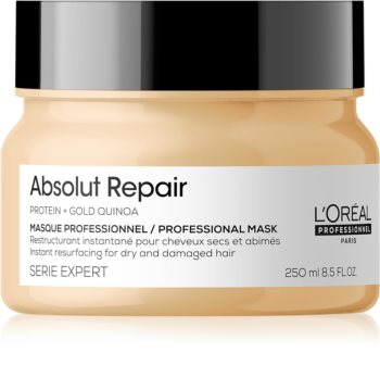 L'Oréal Professionnel Serie Expert Absolut Repair Gold Quinoa + Protein Deeply Regenerating Mask for Dry and Damaged Hair