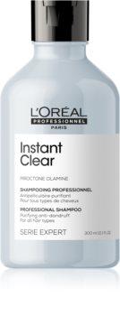 L'Oréal Professionnel Serie Expert Instant Clear mélyen tisztító sampon korpásodás ellen