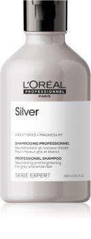 L'Oréal Professionnel Serie Expert Silver Sampon argintiu pentru par grizonat