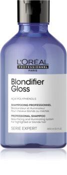 L'Oréal Professionnel Serie Expert Blondifier megszépítő és regeneráló sampon szőkített, melírozott, hideg szőke hajra