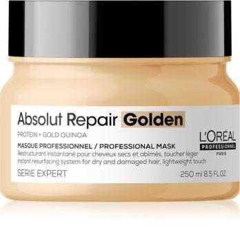 L'Oréal Professionnel Serie Expert Absolut Repair Gold Quinoa + Protein regenererende sheet mask voor Droog en Beschadigd Haar