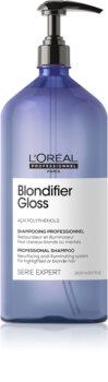 L'Oréal Professionnel Serie Expert Blondifier verfraaiende en regeneratieve shampoo voor ontkleurd, gehighlight, koud-blond haar