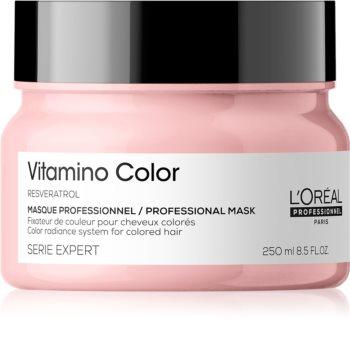 L'Oréal Professionnel Serie Expert Vitamino Color Resveratrol élénkítő maszk a szín védelméért