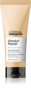 L'Oréal Professionnel Serie Expert Absolut Repair Gold Quinoa + Protein Deeply Regenerating Conditioner for Dry and Damaged Hair