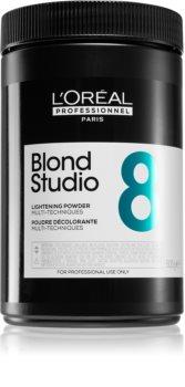L'Oréal Professionnel Blond Studio Lightening Powder posvjetljujući puder