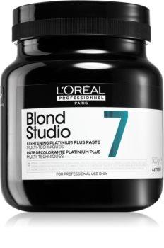 L'Oréal Professionnel Blond Studio Platinium Plus Verlichtende Crème  voor Natuurlijk of Gekleurd Haar