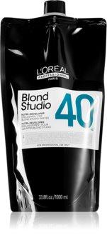 L'Oréal Professionnel Blond Studio Nutri-Developer Activerende Emulsie met Voedende Werking