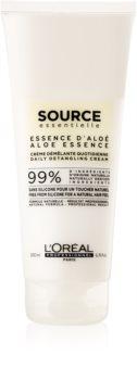 L'Oréal Professionnel Source Essentielle Aloe Essence vlasový krémový kondicionér proti krepateniu