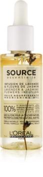 L'Oréal Professionnel Source Essentielle Lavender & Jasmine Flowers Infusion olio nutriente per capelli sensibili