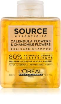 L'Oréal Professionnel Source Essentielle Calendula Flowers & Chamomile Flowers jemný šampón na vlasy