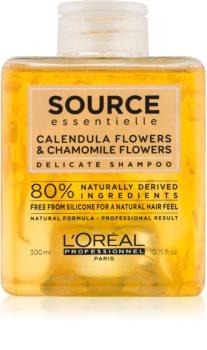 L'Oréal Professionnel Source Essentielle Shampoing Délicat Hellävarainen Hiustenpesuaine Hiuksille