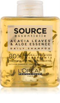 L'Oréal Professionnel Source Essentielle Acacia Leaves & Aloe Essence champô para uso diário para cabelo