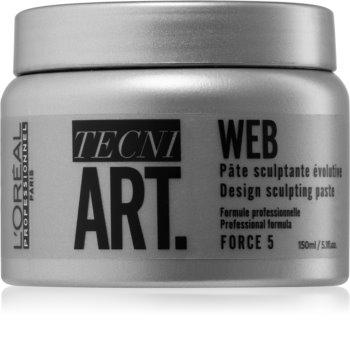 L'Oréal Professionnel Tecni.Art Web Desing cera para dar definición al peinado para estructura y brillo