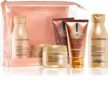 L'Oréal Professionnel Serie Expert Absolut Repair Lipidium Cosmetic Set For Very Damaged Hair