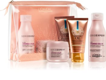 L'Oréal Professionnel Serie Expert Vitamino Color AOX Cosmetic Set For Color Protection