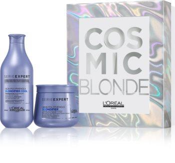 L'Oréal Professionnel Serie Expert Blondifier set cadou I. (pentru par blond)
