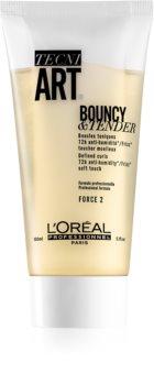 L'Oréal Professionnel Tecni.Art Bouncy & Tender dvokomponentna gel krema za kovrčavu kosu