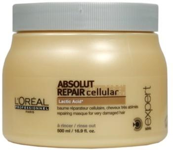 L'Oréal Professionnel Série Expert Absolut Repair Cellular regenerační maska pro suché a poškozené vlasy
