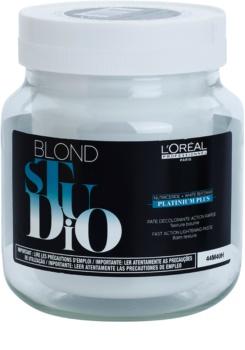 L'Oréal Professionnel Blond Studio Platinium Plus zesvětlující krém