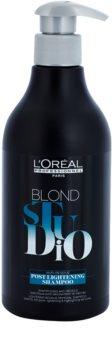 L'Oréal Professionnel Blond Studio Post Lightening Schampo för blekt och tonat hår