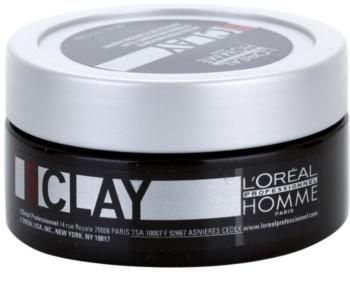 L'Oréal Professionnel Homme 5 Force Clay Modellerande lera Starkt åtstramande