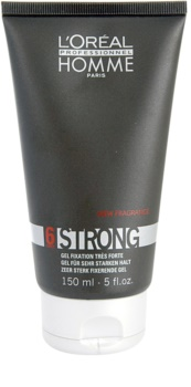 L'Oréal Professionnel Homme 6 Force Strong gel cheveux fixation extra forte