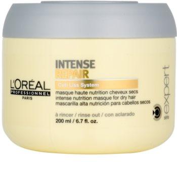 L'Oréal Professionnel Série Expert Intense Repair mascarilla regeneradora para cabello seco y maltratado