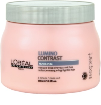 L'Oréal Professionnel Serie Expert Lumino Contrast máscara regeneradora para cabelos com madeixas