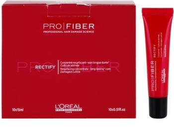 L'Oréal Professionnel Pro Fiber Rectify regenerační péče pro jemné až normální vlasy