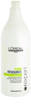 L'Oréal Professionnel Serie Expert Pure Resource șampon pentru par gras