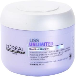 L'Oréal Professionnel Série Expert Liss Unlimited máscara alisante para cabelos crespos e inflexíveis