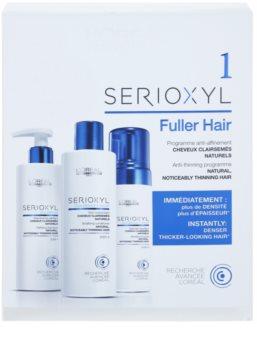 L'Oréal Professionnel Serioxyl GlucoBoost + Incell Fuller Hair kozmetični set za redke lase