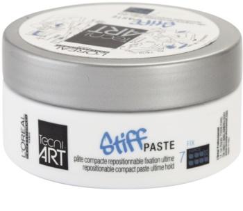 L'Oréal Professionnel Tecni.Art Stiff oblikovalna pasta z mat učinkom