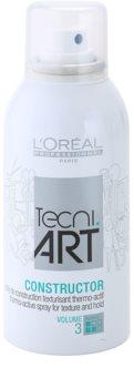 L'Oréal Professionnel Tecni.Art Constructor spray termo-ativo para fixação e forma