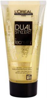 L'Oréal Professionnel Tecni.Art Dual Stylers gel cremoso para formação de ondas