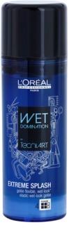 L'Oréal Professionnel Tecni.Art Wet Domination gel de cabelo para fixação flexível