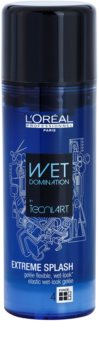L'Oréal Professionnel Tecni.Art Wet Domination Hair Styling Gel For Flexible Hold