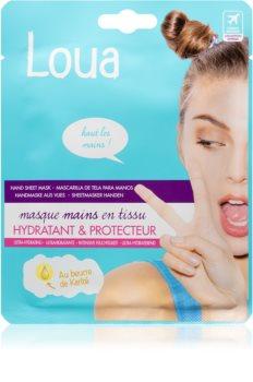Loua Ulltra-Moisturising Hand Mask regenerierende Maske für die Hände in Handschuhform