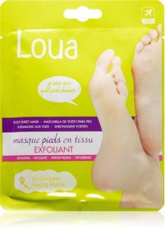 Loua Exfoliating Feet Mask Genoprettende maske til fødder og negle
