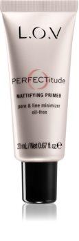 L.O.V. PERFECTitude base de teint matifiante