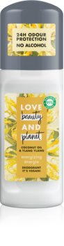 Love Beauty & Planet Energizing déodorant bille roll-on