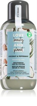 Love Beauty & Planet Blooming Care bain de bouche rafraîchissant